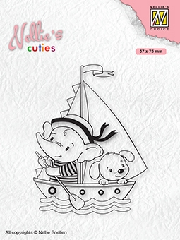 Nellie's Choice- Clearstempel- Cutties- Young Sailors: NCCS010