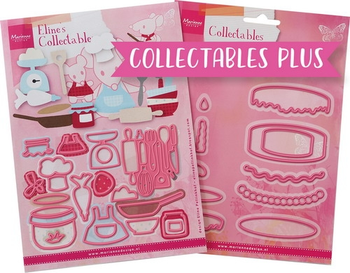 Marianne Design- Collectable plus set Baking fun: PA4129