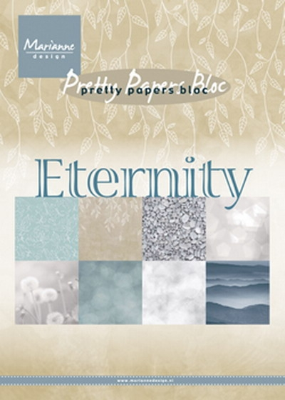 Marianne Design- Pretty Papers Bloc- Eternity: PK9154