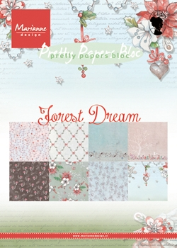 Marianne Design- Paper Bloc- Forest Dream: PK9158