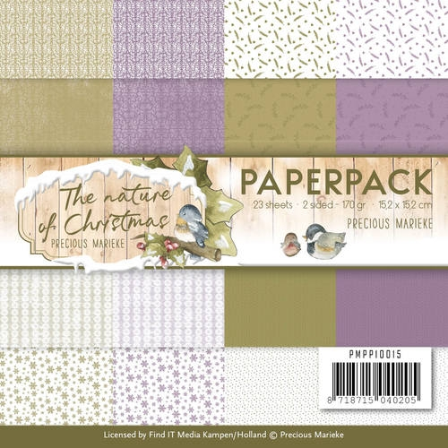 Precious Marieke- Paperpack- The Nature of Christmas: PMPP10015