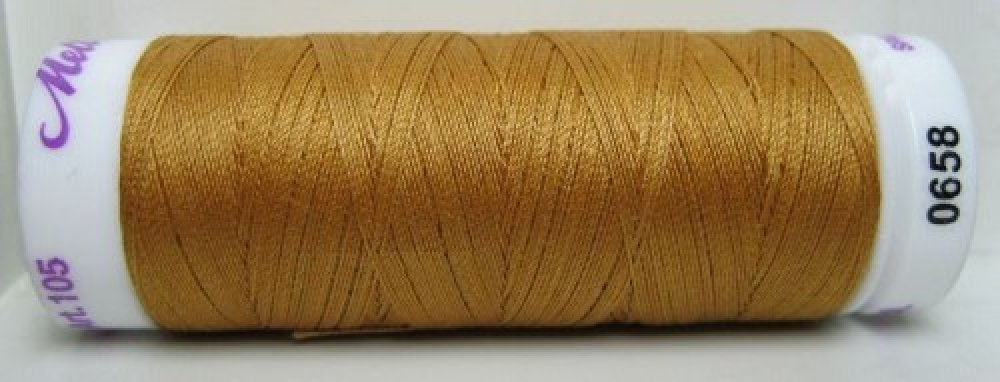 Mettler Silk Finish effen, 150 m: kleur 0658