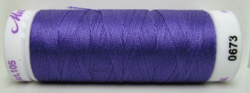 Mettler Silk Finish effen, 150 m: kleur 0673
