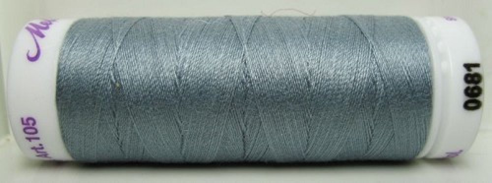 Mettler Silk Finish effen, 150 m: kleur 0681