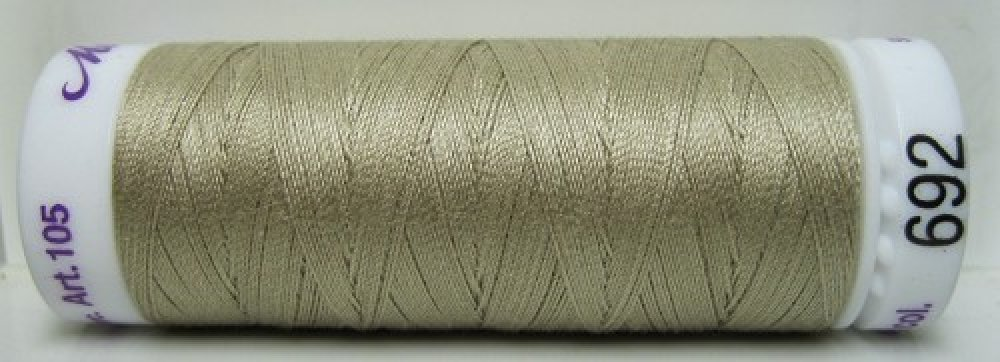 Mettler Silk Finish effen, 150 m: kleur 0692