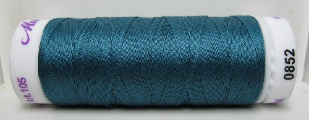 Mettler Silk Finish effen, 150 m: kleur 0852