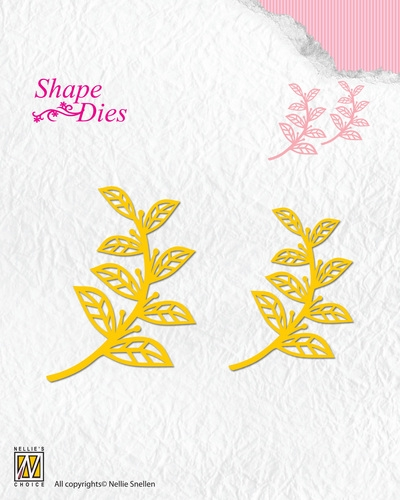 Nellie's Choice- Shape Dies- Leaves (2 st): SD127