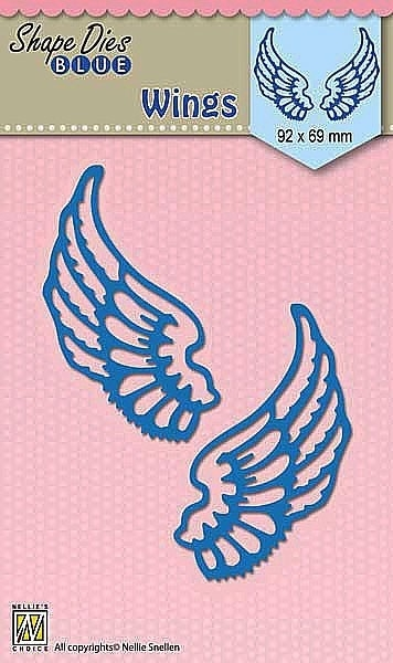 Nellie's Choice- Shape Dies Blue- Wings: SDB061