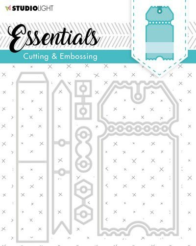 Studio Light- Embossing die Cut essentials 276