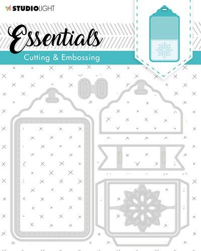 Studio Light- Embossing die Cut essentials 277