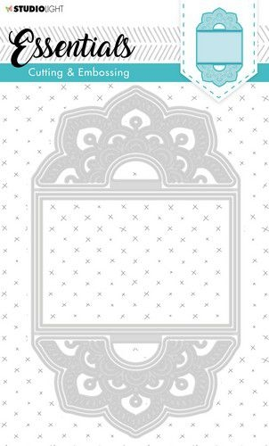 Studio Light- Embossing Die Cut Stencil- Essentials nr. 278: STENCILSL278