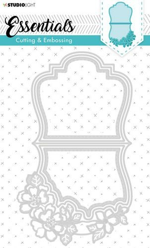 Studio Light- Embossing Die Cut Stencil- Essentials nr. 280: STENCILSL280