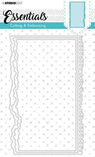 Studio Light- Embossing Die Cut Stencil- Essentials nr. 281: STENCILSL281