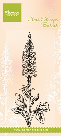 Marianne Design- Clear stamp- Tiny's Foxglove: TC0848