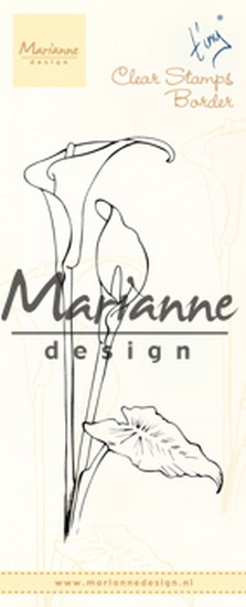 Marianne Design- Clearstempel- Tiny's border Callas : TC0864