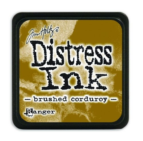 Ranger Distress Mini Ink pad- Brushed Corduroy- TDP39884