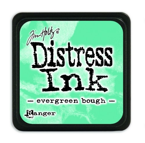 Ranger Distress Mini Ink pad- Evergreen Bough- TDP39945