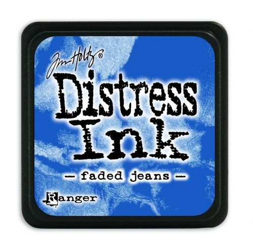 Ranger Distress Mini Ink pad- Faded Jeans- TDP39952