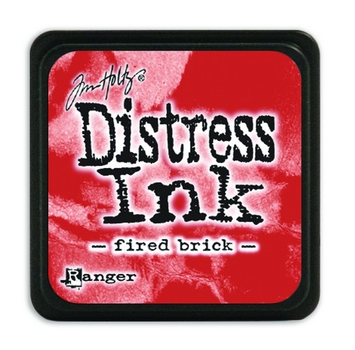 Ranger Distress Mini Ink pad- Fired Brick- TDP39976