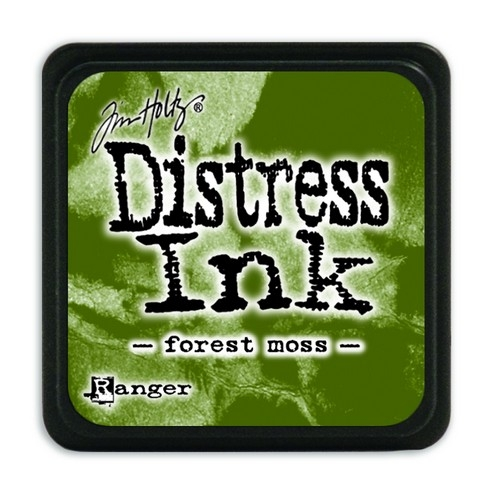 Ranger Distress Mini Ink pad- Forest Moss- TDP39983
