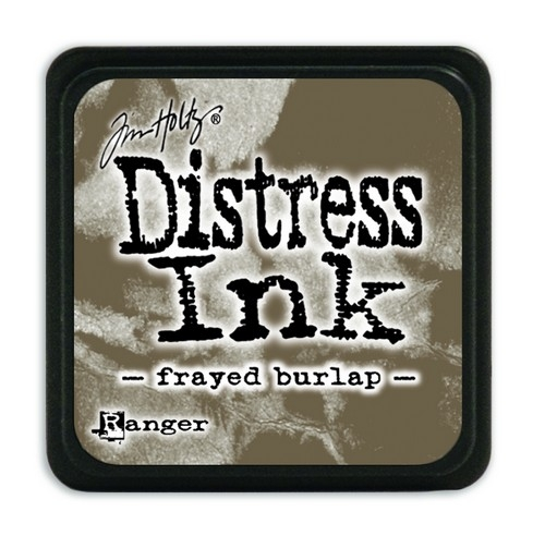 Ranger Distress Mini Ink pad- Frayed Burlap- TDP39990