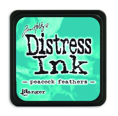 Ranger Distress Mini Ink pad- Peacock Feathers- TDP40064