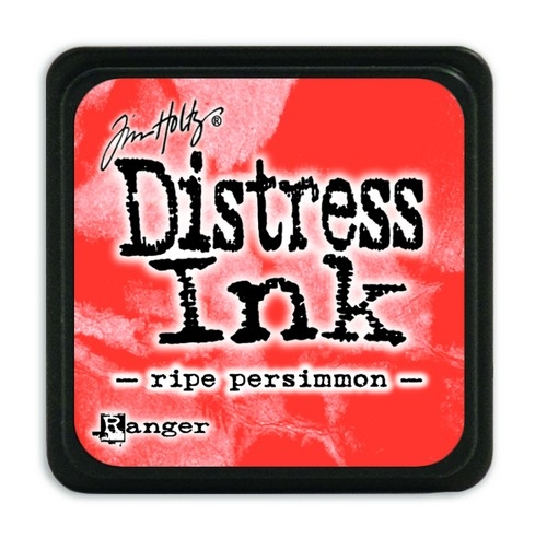 Ranger Distress Mini Ink pad- Ripe Persimmon- TDP40118