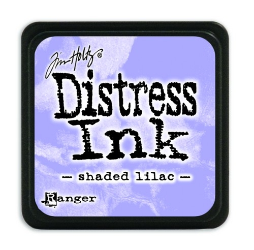 Ranger Distress Mini Ink pad- Shaded Lilac- TDP40170