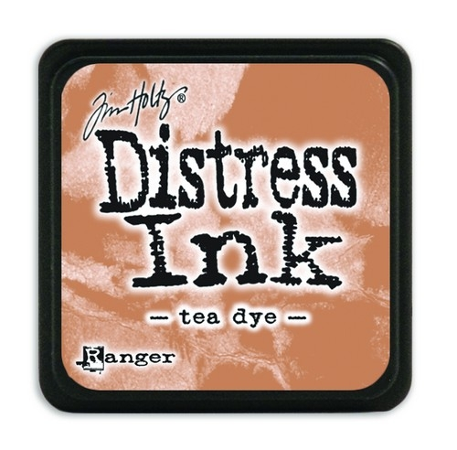 Ranger Distress Mini Ink pad- Tea Dye- TDP40231