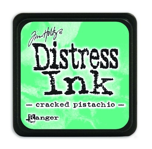 Ranger Distress Mini Ink pad- Cracked Pistachio- TDP46776