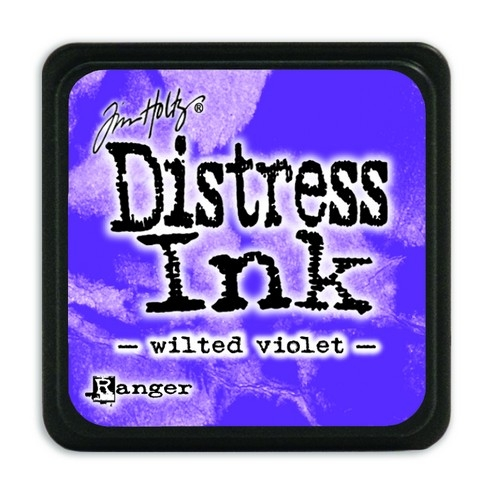 Ranger Distress Mini Ink pad- Wilted Violet - TDP47360