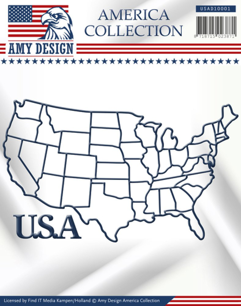 Amy Design- Die- American Collection- USA: USAD10001