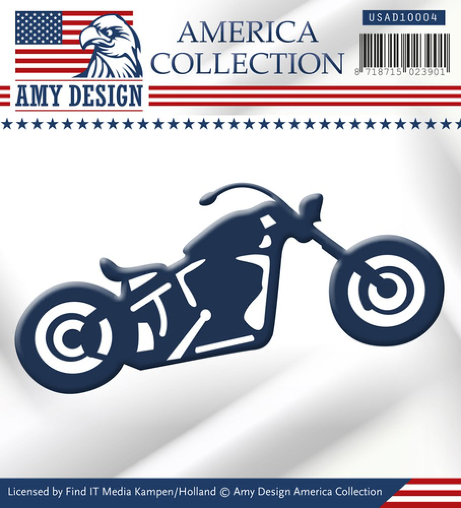 Amy Design- Die- American Collection- Bike: USAD10004