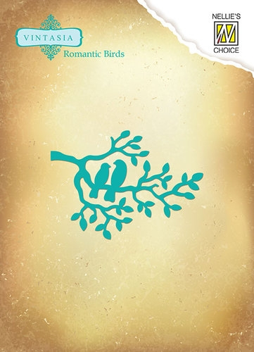 Nellie's Choice- Vintasia Dies- Romantic Birds-  Branche: VIND039