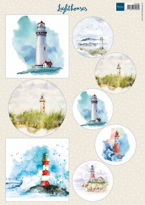 Marianne Design- Knipvel- Lighthouses: VK9589