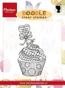 Marianne Design- Clearstamp- Cupcake: EWS2219