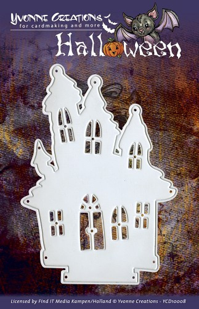 Yvonne Creations- Halloween- Haunted House: YCD10008