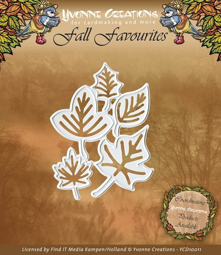 Yvonne Creations- Fall Favourites- Leaves: YCD10011