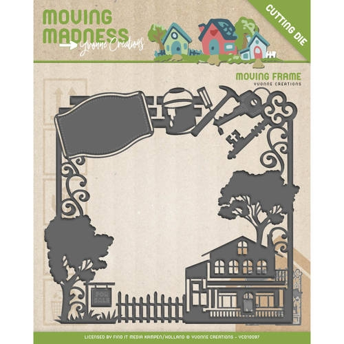 Yvonne Creations- Die-Moving Madness-Moving frame: YCD10097