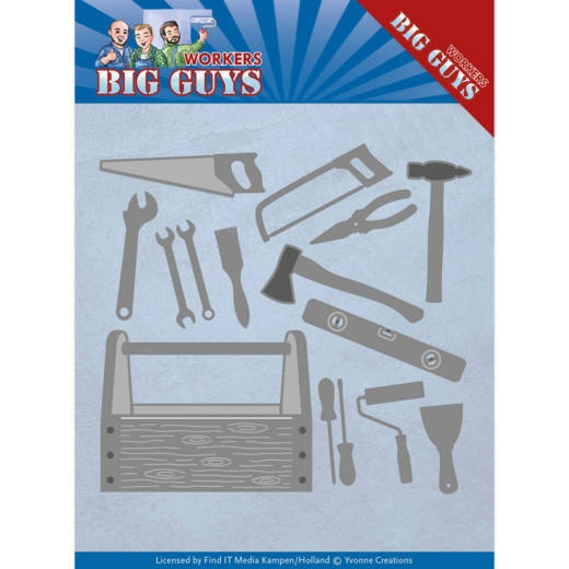 Yvonne Creations- Dies- Big Guys- Handyman Tools: YCD10203