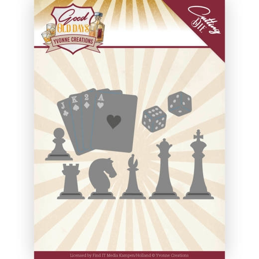 Yvonne Creations- Die- Chess Game: YCD10223
