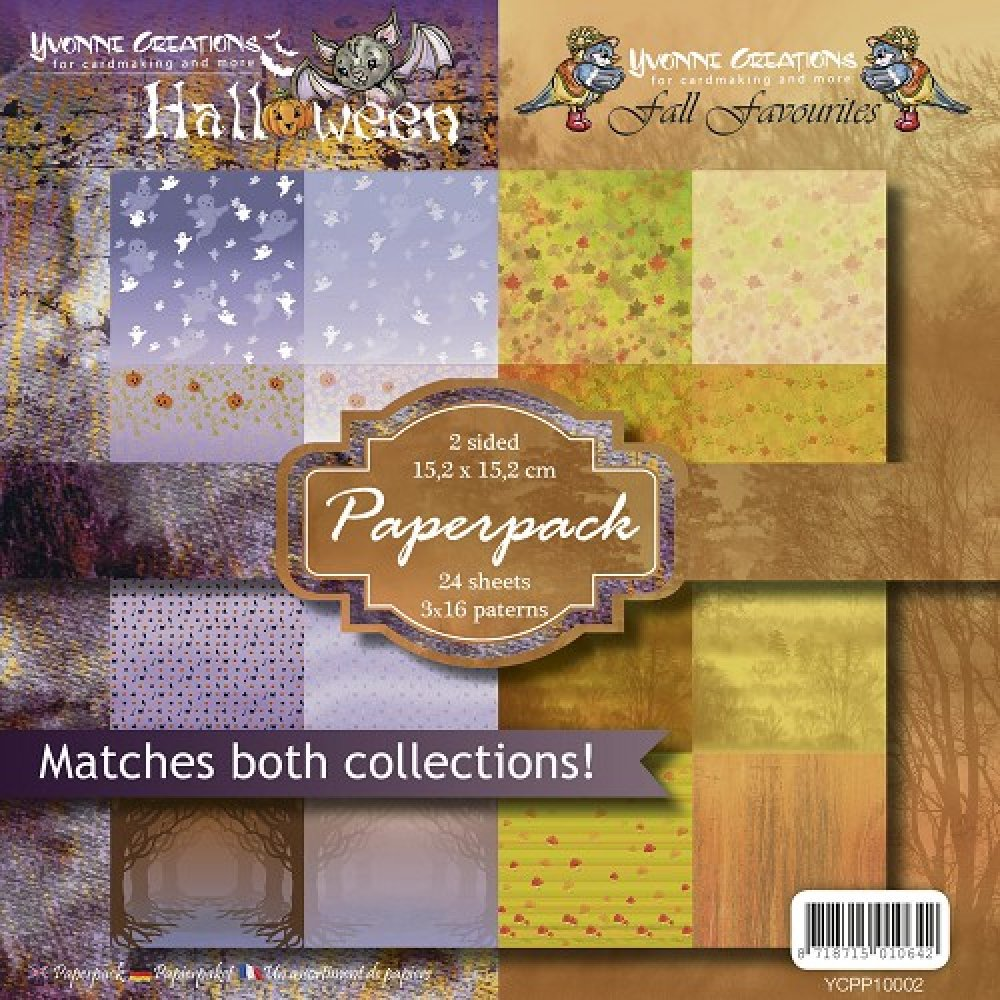 Yvonne Creations- Paperpack- Halloween & Fall Favourites: YCPP10002
