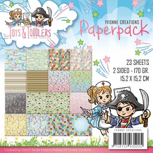 Yvonne Creations- Paperpack- Tots & Toddlers: YCPP10012