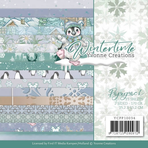 Yvonne Creations- Paperpack- Winter Time: YCPP10034